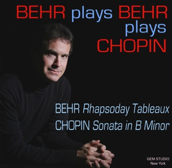 Behr Plays Behr Plays Chopin, classical & blue-age CD album